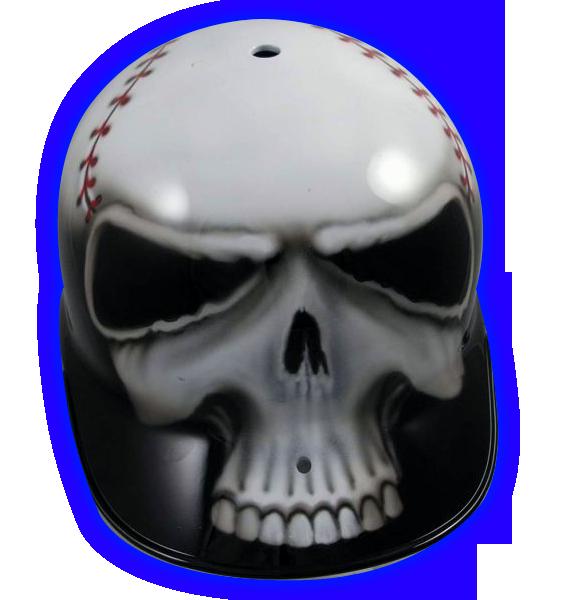 Real Carbon Fiber Hard Hat: Baseball_skull_front.png 573×600 Pixels