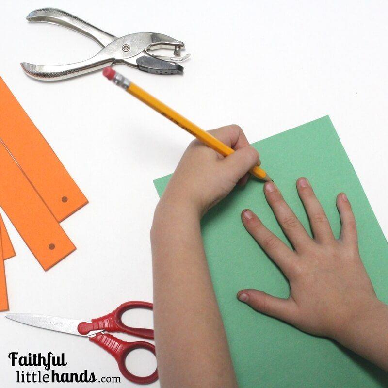 Thanksgiving Gratitude Pumpkin: Kids Paper Craft with Free ...