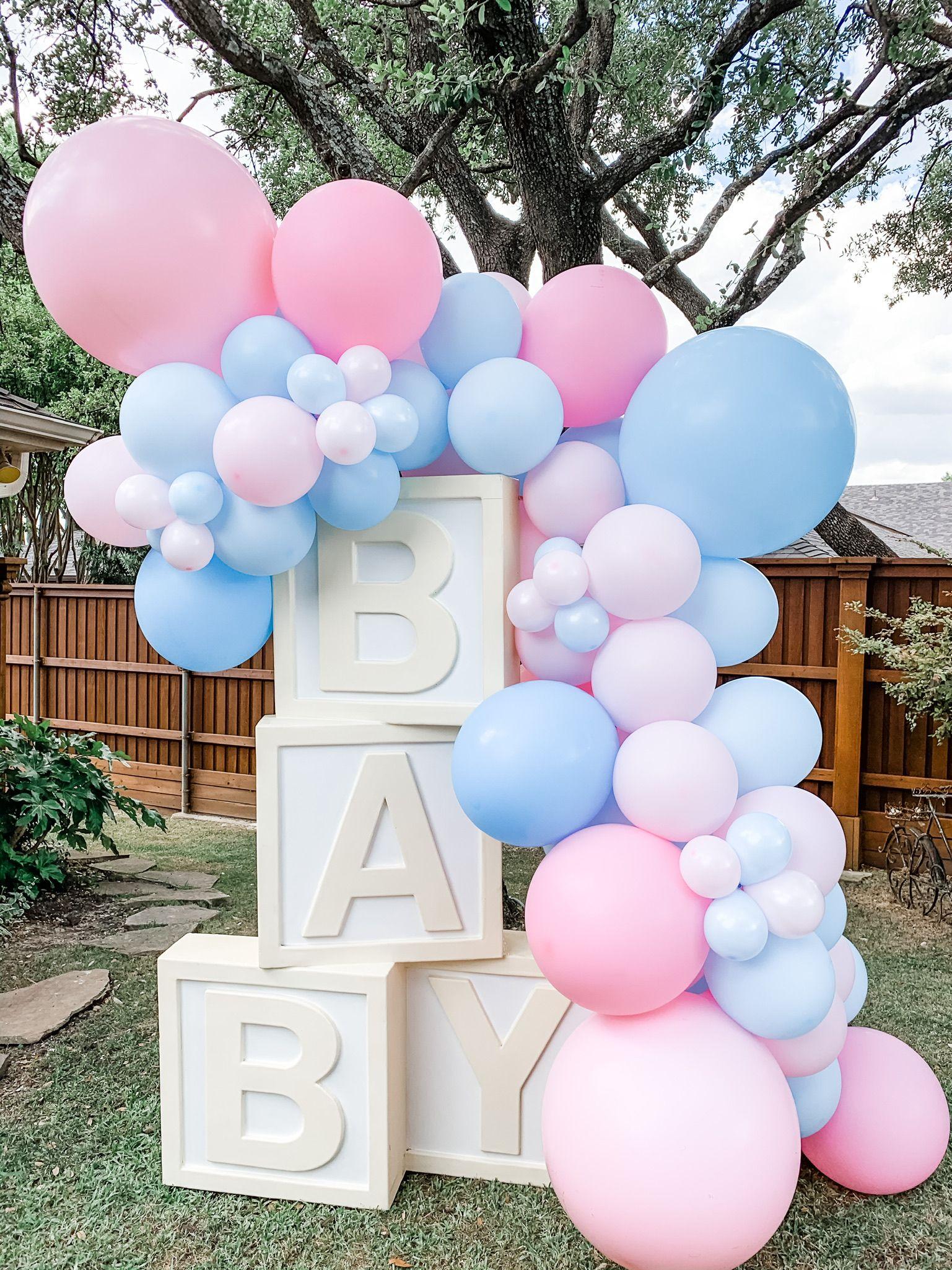 Gender Reveal Ideas Gender Reveal Balloons Gender Reveal Decorations Baby Gender Reveal Party Decorations Gender Reveal Balloons Gender Reveal Decorations