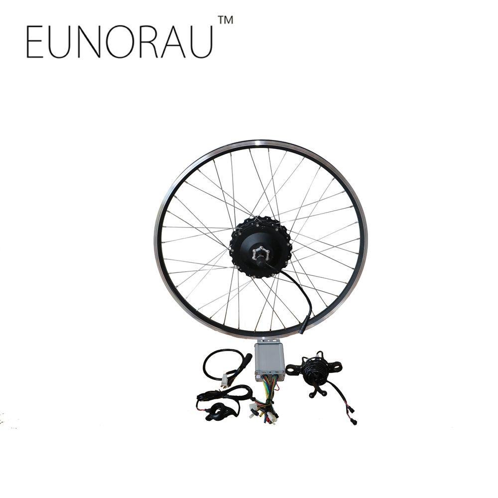 Free Shipping 48v1000w 26 27 5 28 Rear Cassette Wheel Hub Motor Electric Bike Kit Cheap Ebike Con Electric Bike Kits Electric Bike Electric Bike Conversion