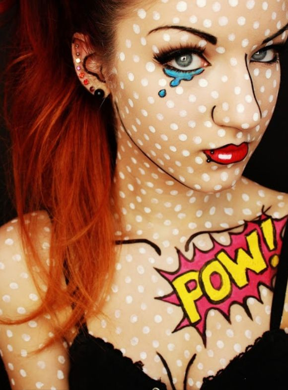 Great face paint designs and ideas perfect for Halloween. Good for kids and adults. #Vocalpoint