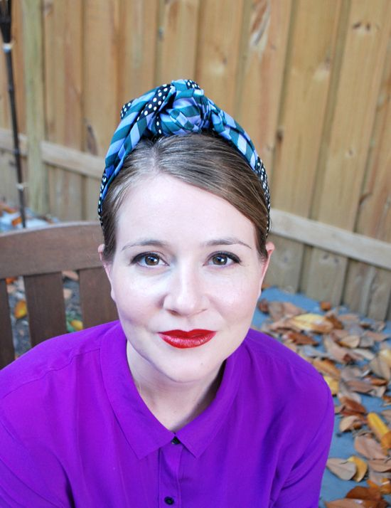How To Wrap A Head Scarf 1940s Style 1940s Hairstyles Shot Hair Styles Retro Updo