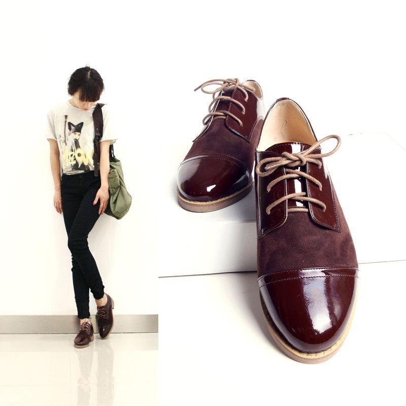 Amazones: zapatos vintage mujer
