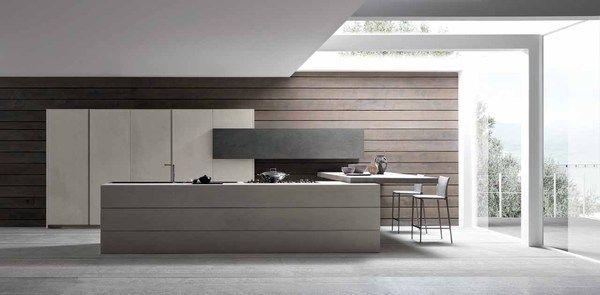 Industrial Chic Twenty Cemento Kitchen from Modulnova LMI
