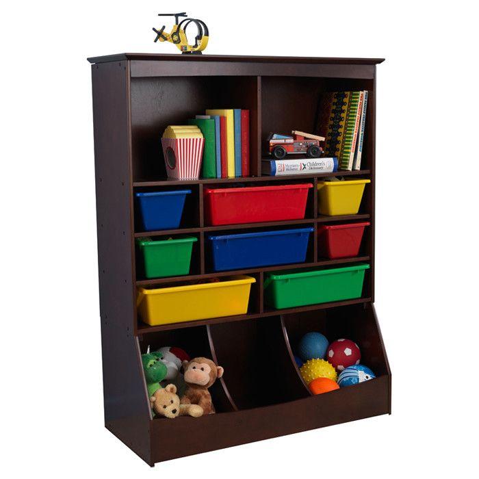 Kid Kraft Toy Organizer. Toy Storage UnitsKid ...  sc 1 st  Pinterest & Kid Kraft Toy Organizer   Toy boxes