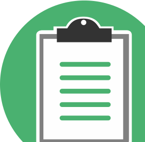 Icon Of A Clipboard Online Education Education Curriculum