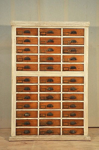 Fly Tying Storage Cabinet