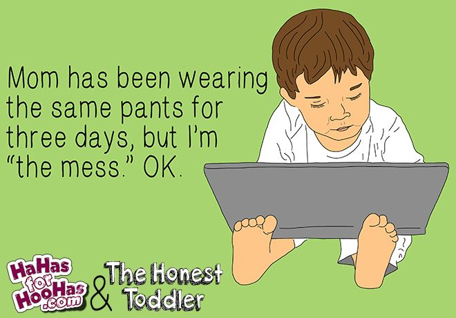 The Honest Toddler eCard Series! | hahasforhoohas.com