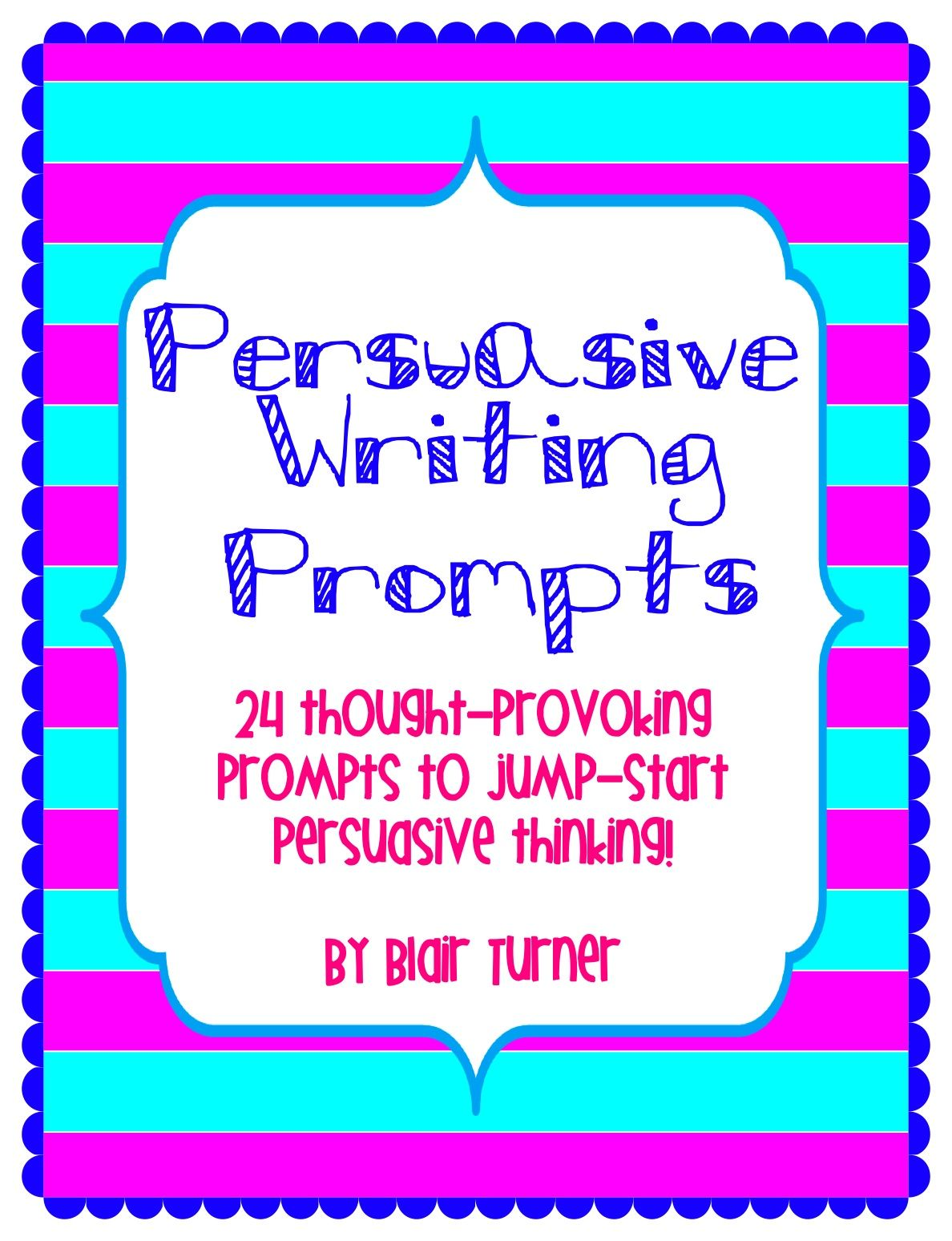 6th grade persuasive essay writing prompts