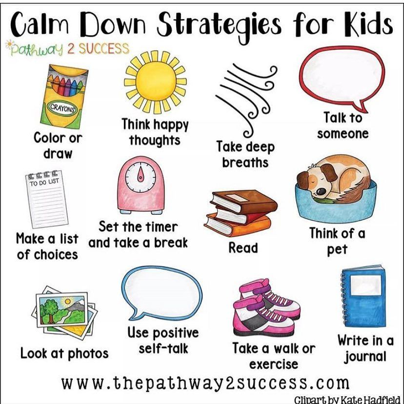 It can often be difficult to calm down kids when having a