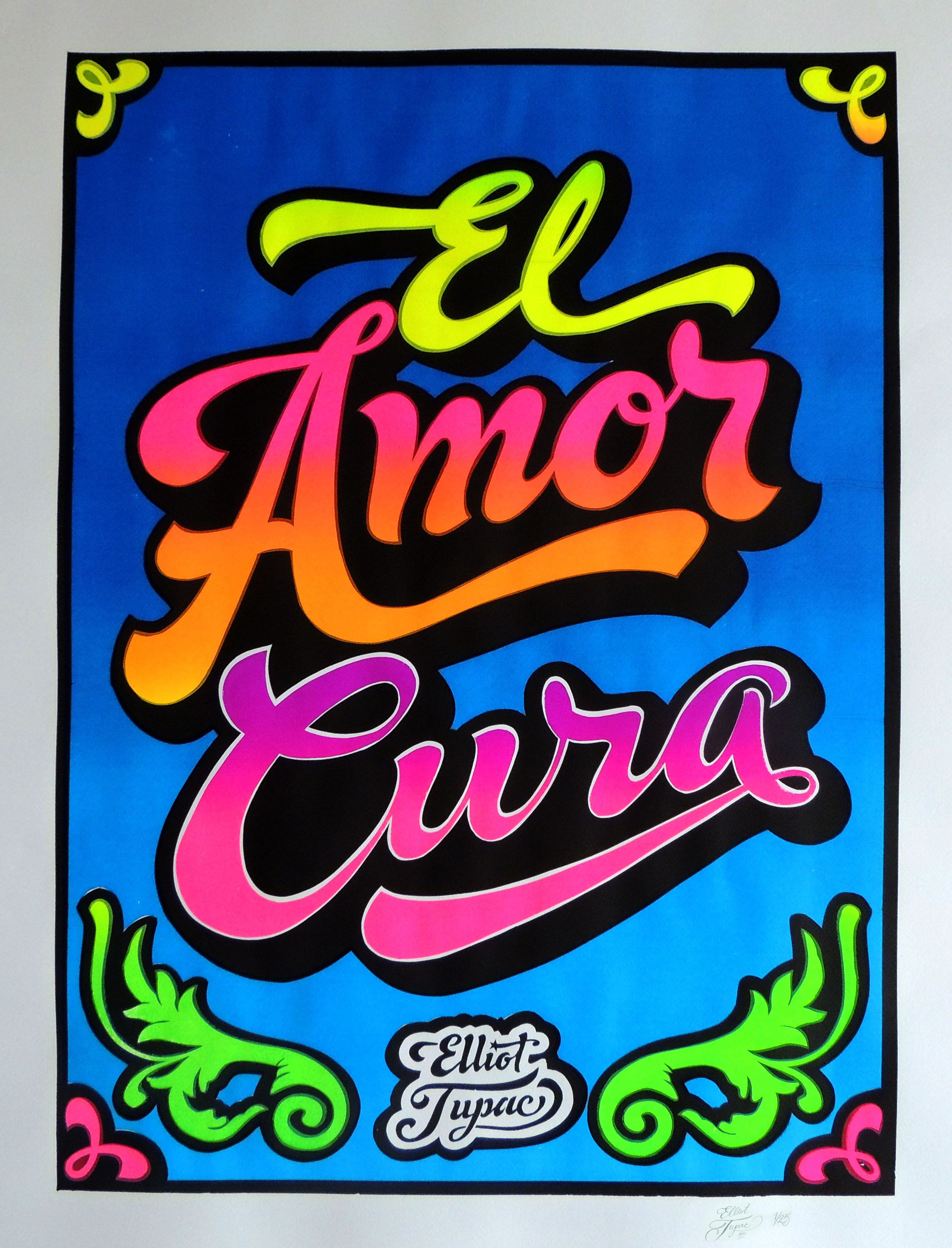 Exceptionnel El Amor Cura | Typo, Personal logo and Typography JQ12