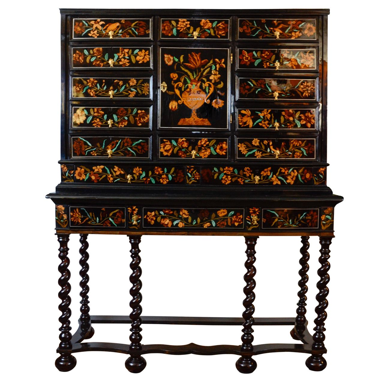 Muebles Chinos Antiguos Louis Xiv Marquetry Cabinet On Stand 17th Century