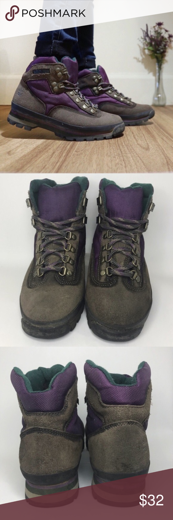 90s Timberland Euro Hiker Boots ✧ Unique 90s Timberland