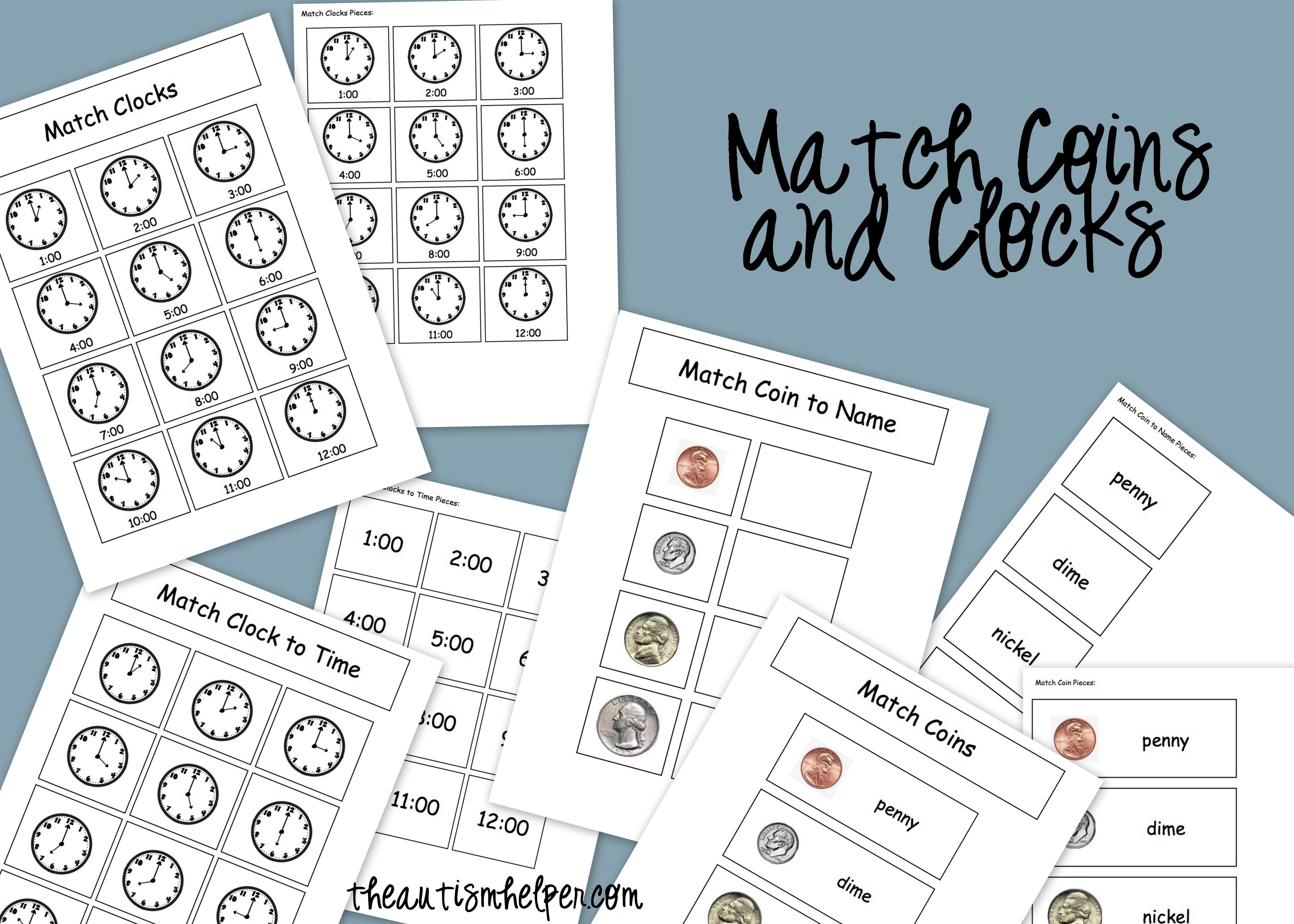 Match It Interactive Tasks For Children With Autism
