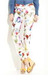Latest Trend 2012: Printed Pants - Nordstrom Dolce Print Stretch Cotton Pants