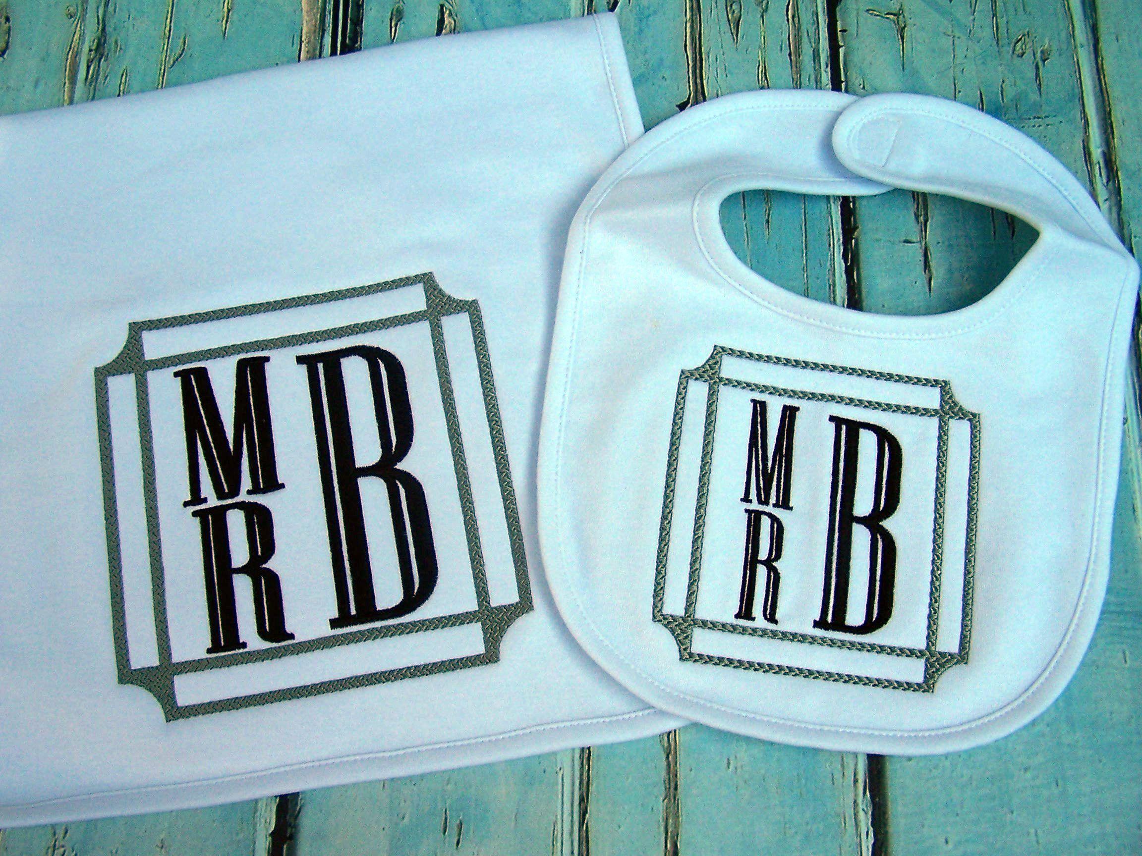 Baby bib burp cloth baby gift monogrammed bib monogrammed burp baby bib burp cloth baby gift monogrammed bib monogrammed burp cloth negle Gallery