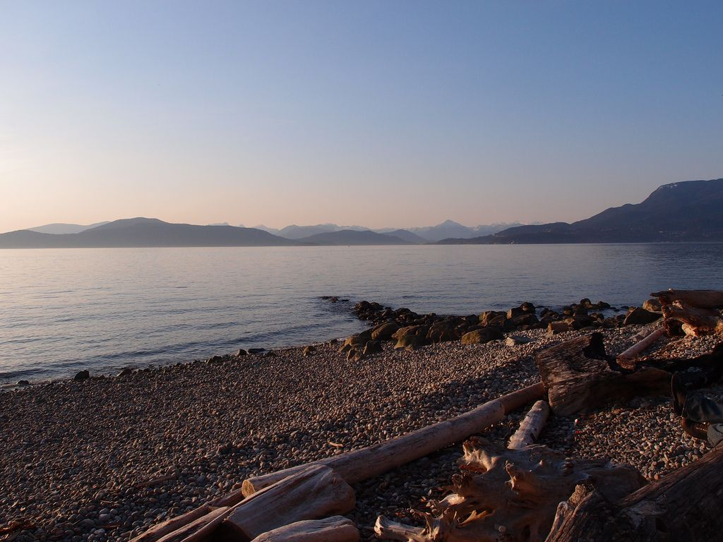 UBC Wreck Beach | The Wreck Beach in the University of