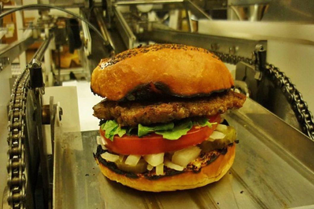 Fully automatic burger making machine httpwwwpocket