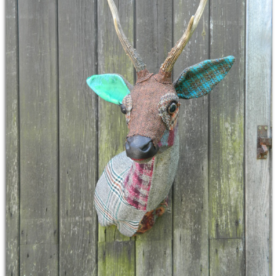 Pin On Diy Fabric Animal Head