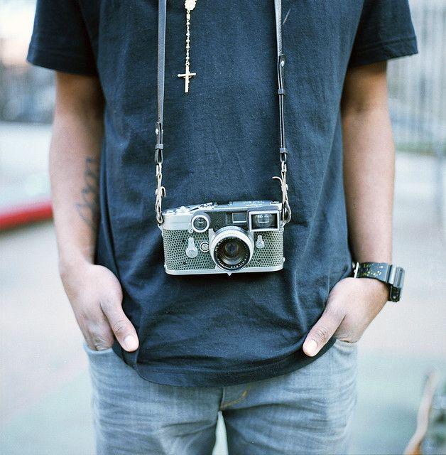 Snakeskin Leica.