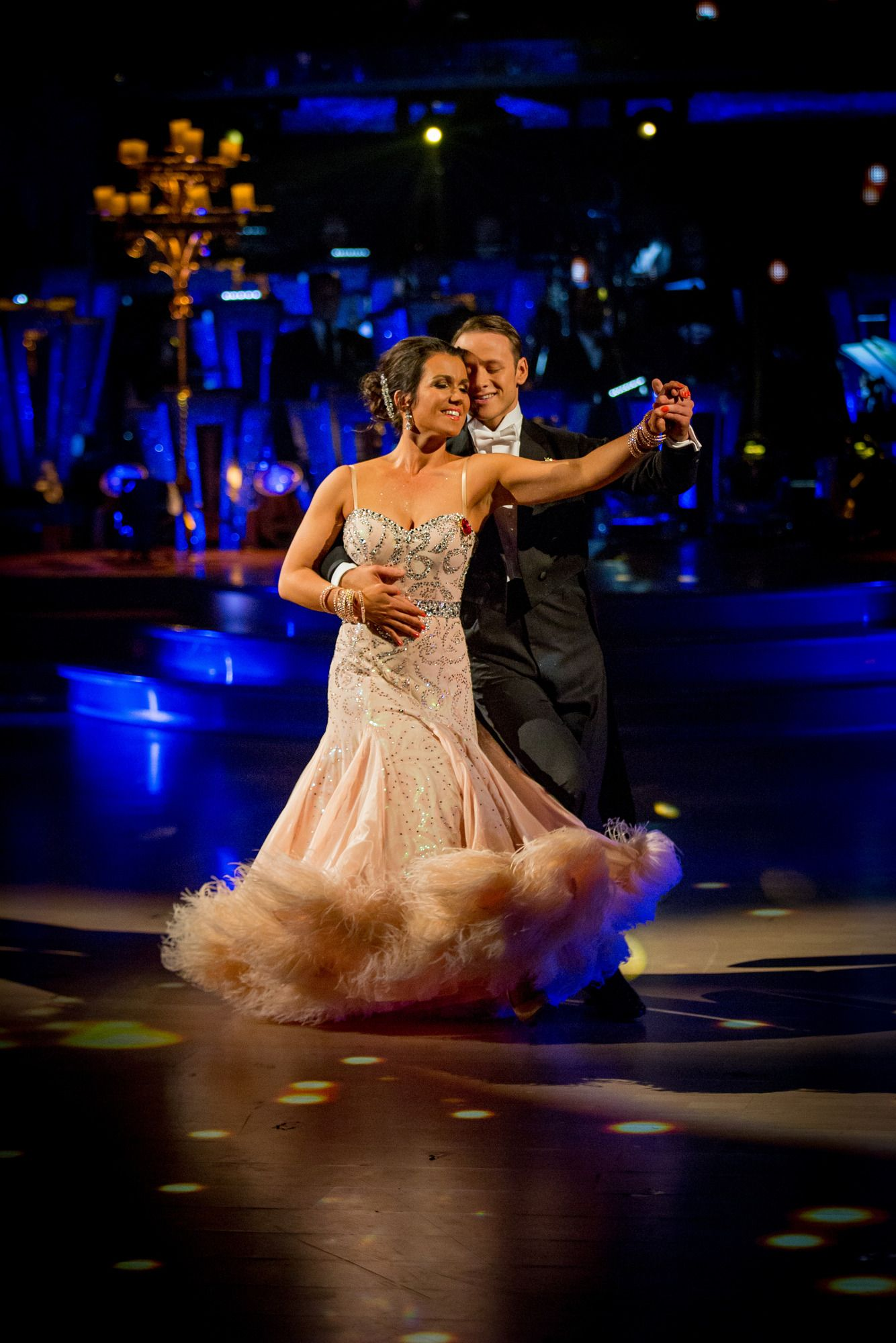 Susanna Reid and Kevin Clifton - Strictly Come Dancing 2013 - Week 7