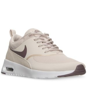 Nike Women s Air Max Thea Running Sneakers from Finish Line - White ... 8e4ed0349