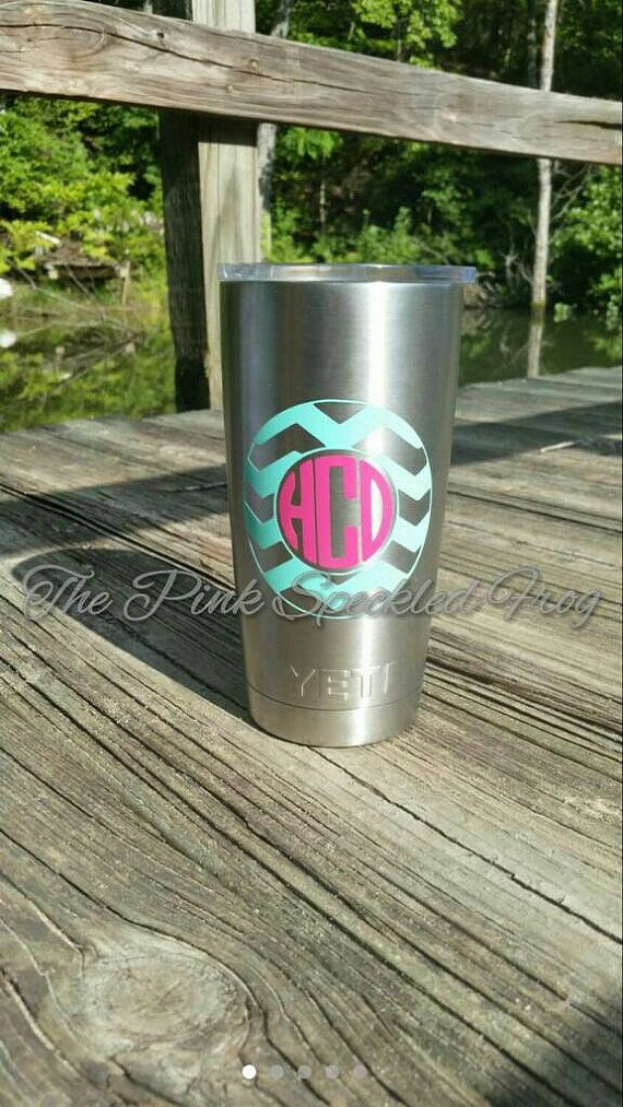 Owl Personalized Yeti Tumbler Cup Decal By ExpresYourselfDecal - Vinyl cup decals