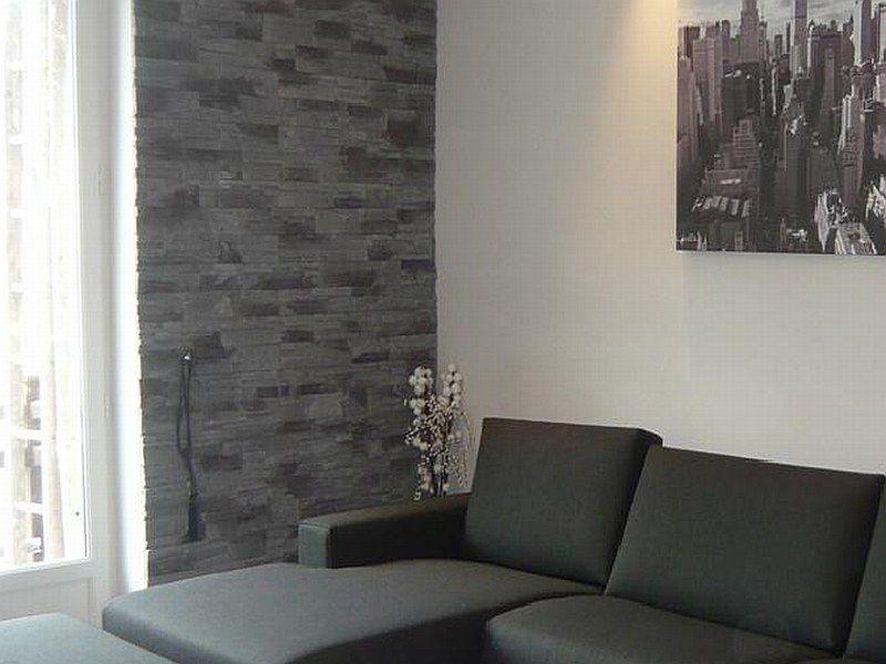 rivestimento pietra soggiorno - Cerca con Google | Design ...