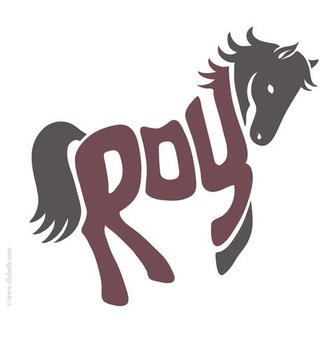 Roy - The creation process of a typographic illustration