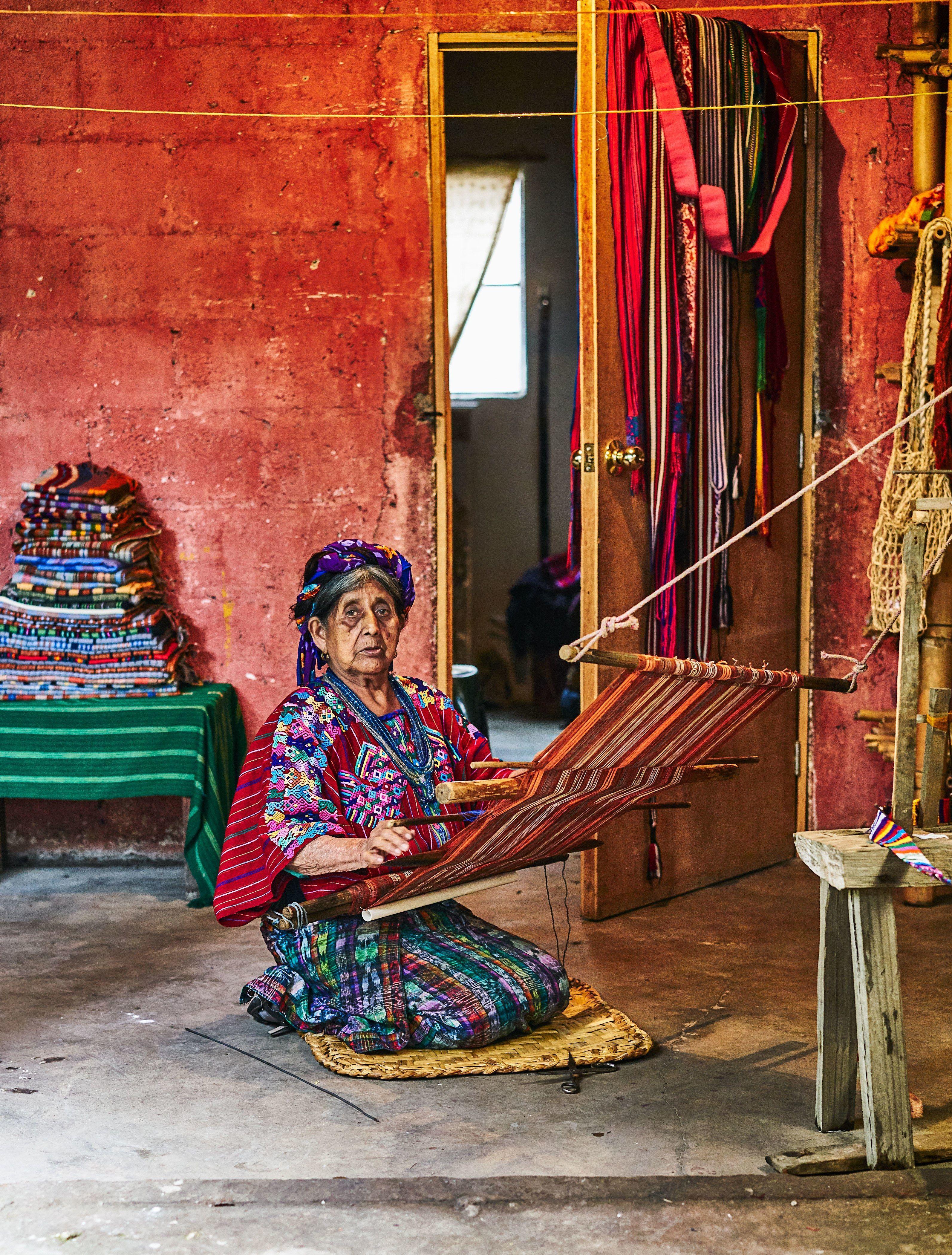 The Surprising Origin Behind This Guatemalan Weaving
