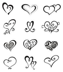 Pin By Ann Leone On Tattoos Simple Heart Tattoos Small Heart Tattoos Heart Tattoo Designs