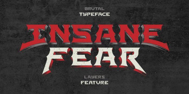 Insane fear font download download fonts fear fonts