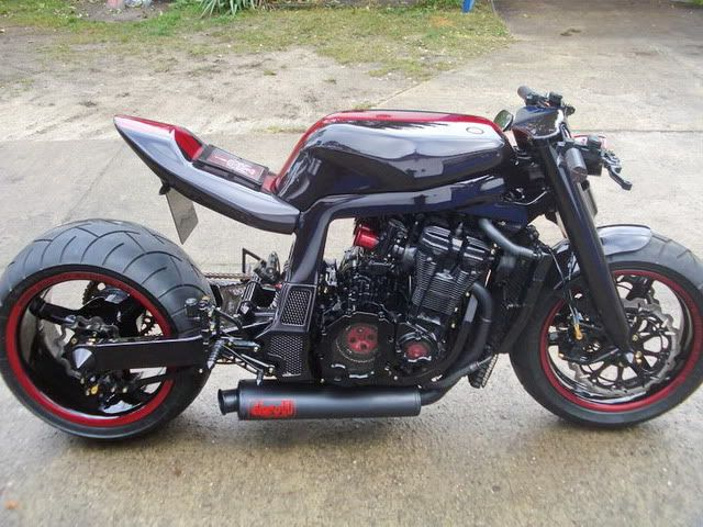 GSXR Oil Cooled - Page 10 - Custom Fighters - Custom