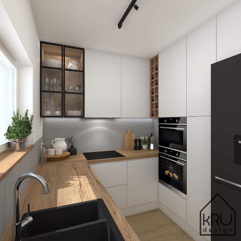 Kuchnia Z Loftowym Sznytem In 2020 Kitchen Interior Kitchen Room Design Kitchen Design Small