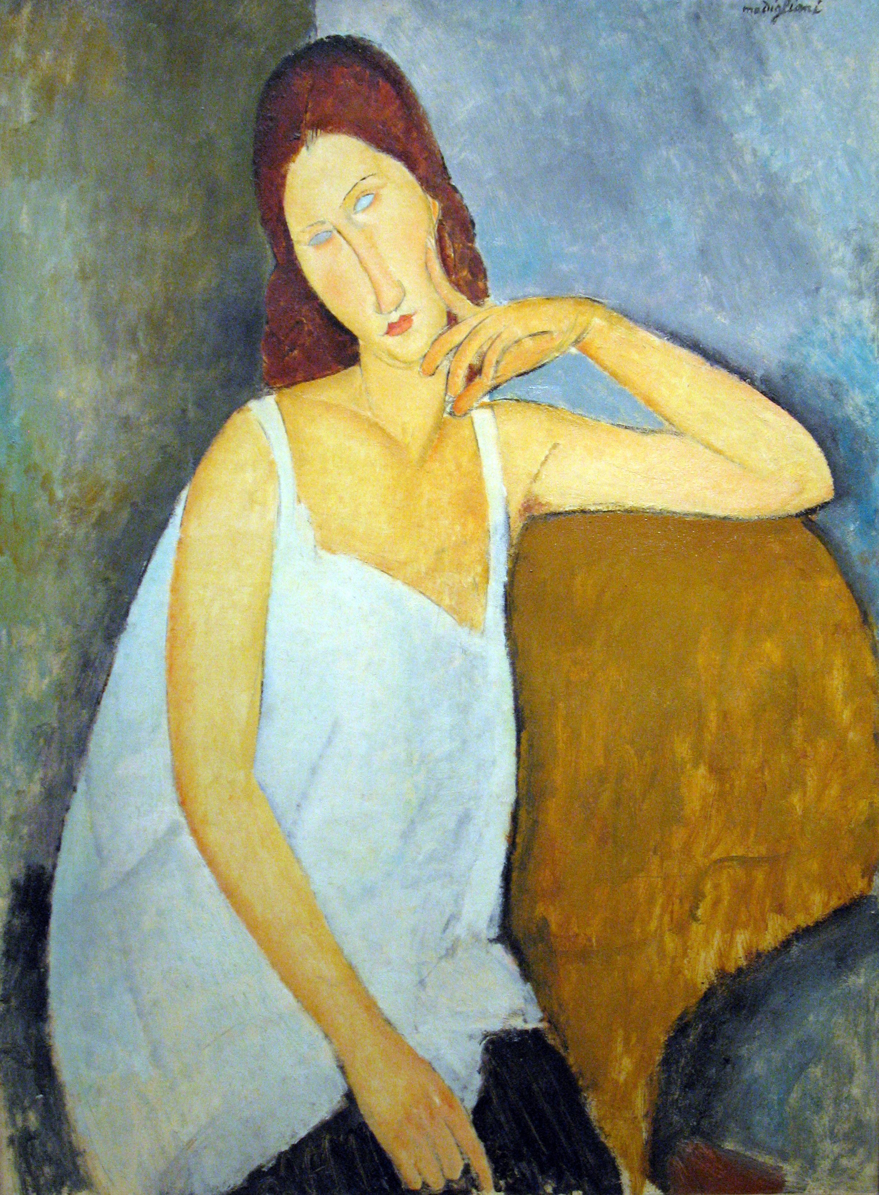 Leopold Zborowski 1918 Painting | Amedeo Modigliani Oil