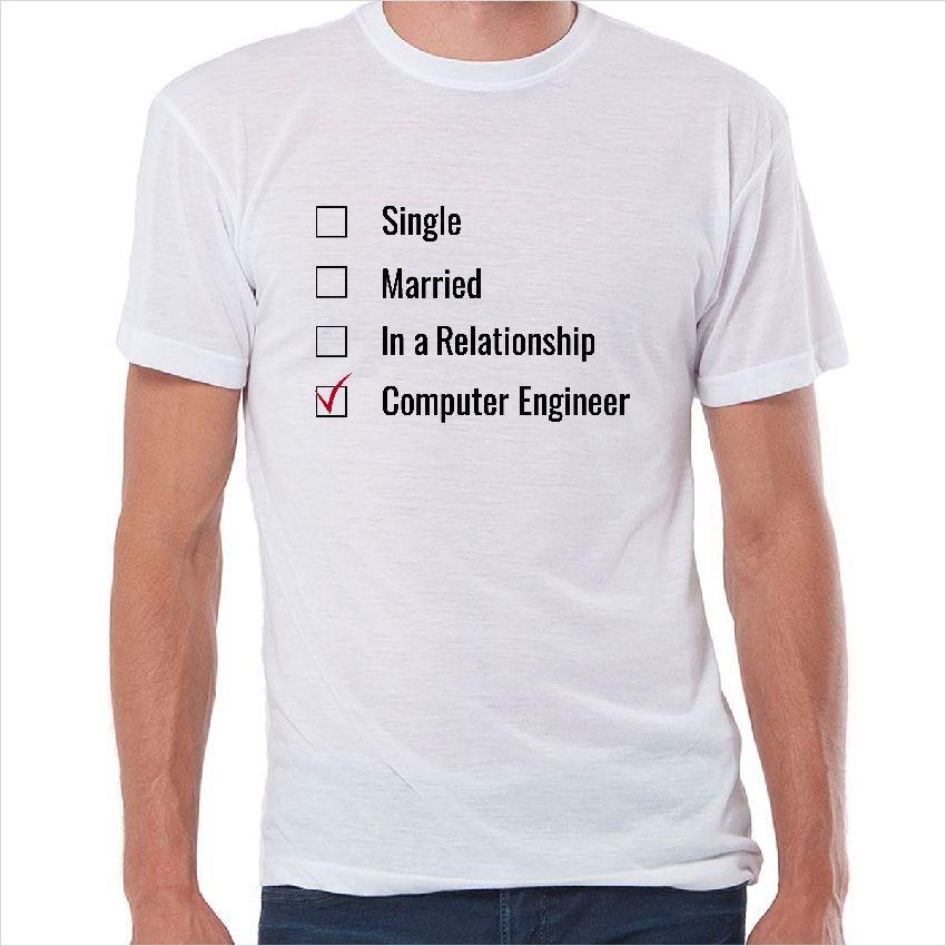 Camiseta friki Computer engineer