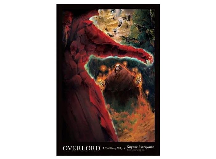 The novel volume 3 (hard cover) of Overlord: The Bloody