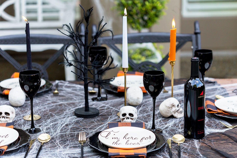 Halloween Dinner Party & Menu Ideas Adult halloween