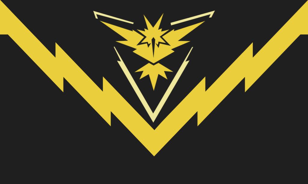 Flag Of Team Instinct The Superior Pokemon Go Faction Oc R Vexillology Flag Istoriya Alternativnaya Istoriya