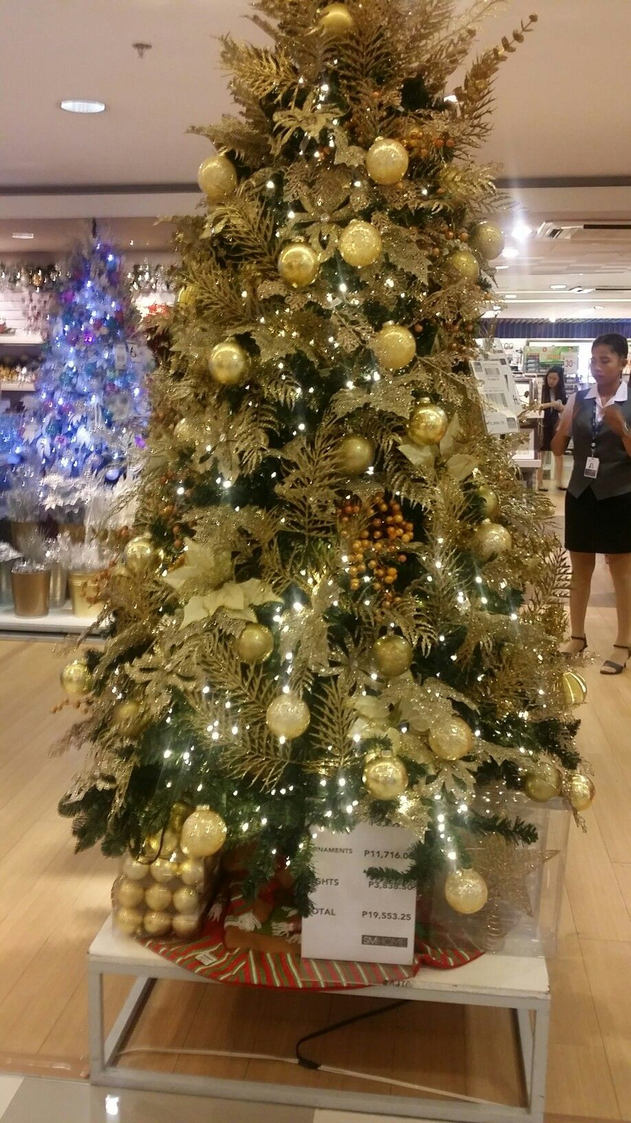 Pin By Flashpackairess On Xmas Manila Tree Design Tree Designs Holiday Decor Christmas Tree