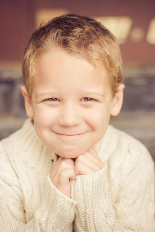 Cutest kid ever!! I'm biased tho...