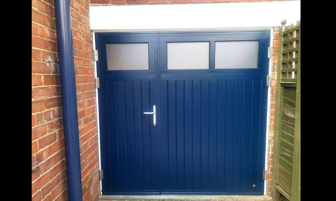 Hinged Garage Doors Blue Google Search Garage Doors Garage Door Hinges Doors