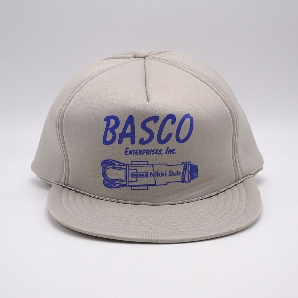 Vintage Full Foam Trucker Hat Basco Enterprises Made In Taiwan Snapback Cap Ebay Trucker Hat Vintage Trucker Hats Hats