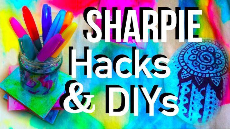 Photo of Sharpie DIYs and HACKs!!