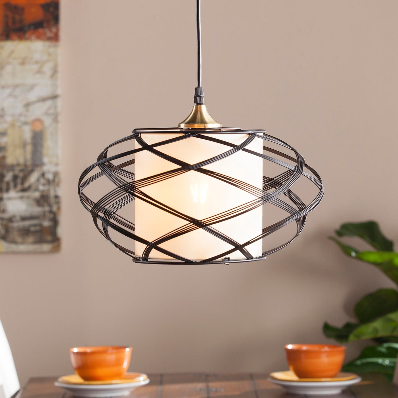 Soloff Wire Cage Pendant Lamp Cage Pendant Lamp Pendant Lamp Globe Pendant Light