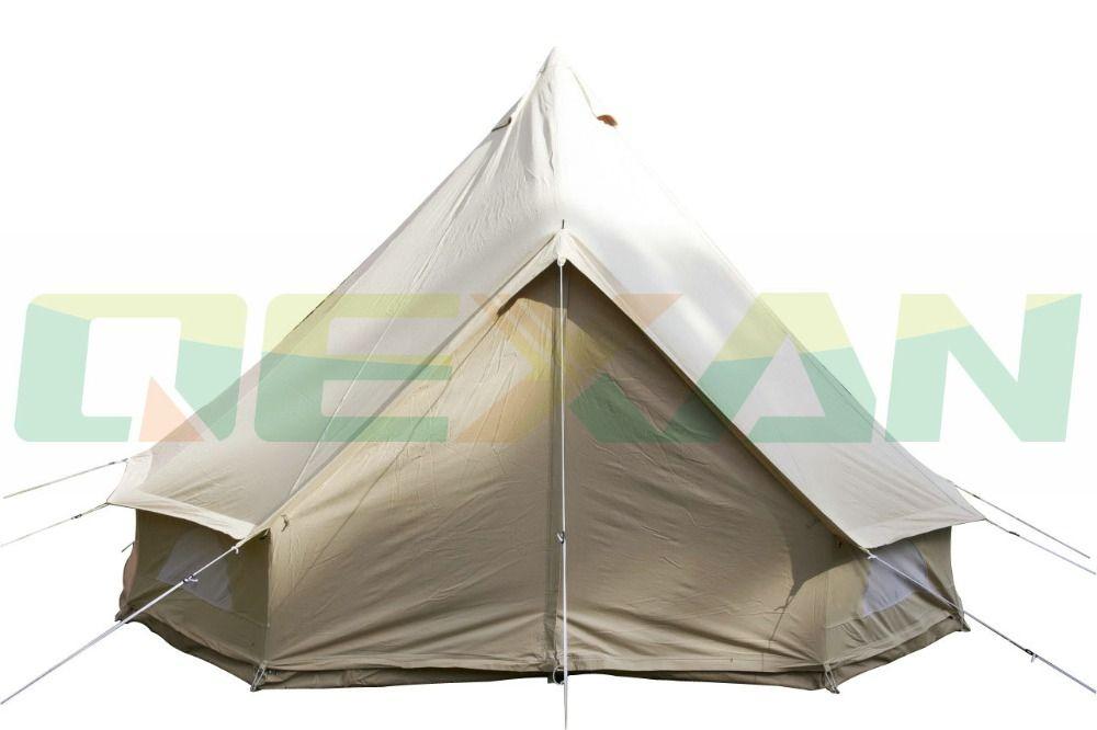 Pas cher livraison gratuite tanche 4 m cloche tente for Acheter maison en chine