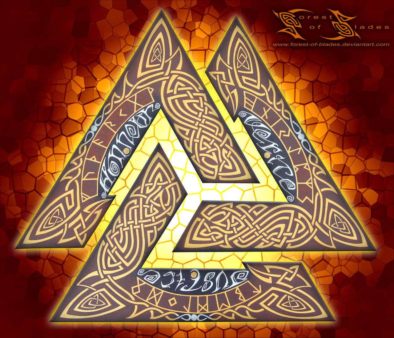 Valknut the norse symbol for the 3 stages of all that exists this odinic symbol is called a valknut knot of the slainchosen mula bandha the valknut lock biocorpaavc Image collections