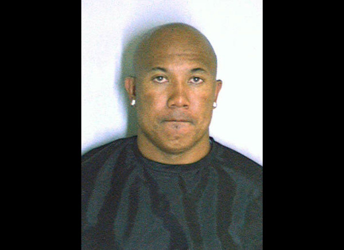 Hines Ward In this police mug shot from the DeKalb County