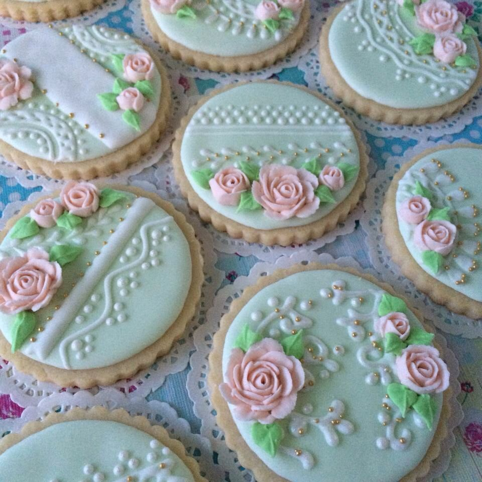Another Wedding Cookie Project