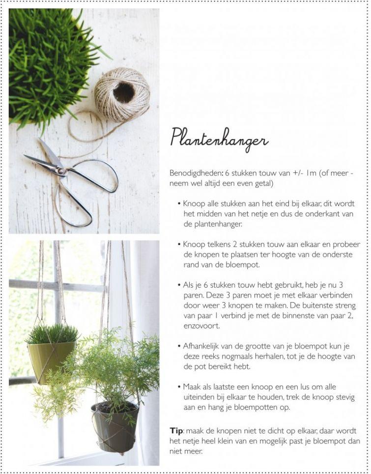 Zelfmaak Idee: Plantenhanger   Dille U0026 Kamille